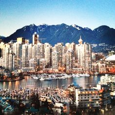 The Vancouver Skyline