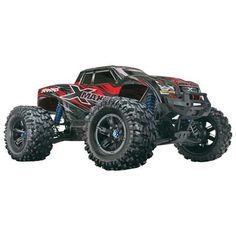 "Traxxas X-Maxx Monster Truck TSM 4WD RTR 29.8"" Red"