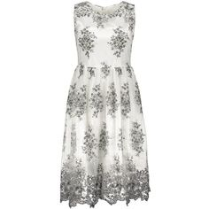 31.47$  Watch now - http://dixvn.justgood.pw/go.php?t=206458602 - Jewel Collar Flower Embroidered Dress 31.47$