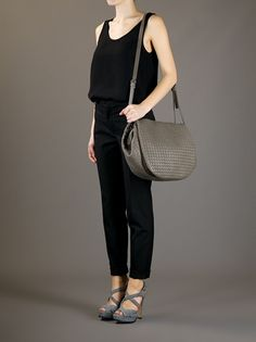 BOTTEGA VENETA - intrecciato woven shoulder bag 8 Bottega Veneta 5ef61d89fd631