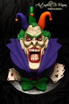 Joker cake! by antonelladimaria (12/27/2012)  View details here: http://cakesdecor.com/cakes/41313