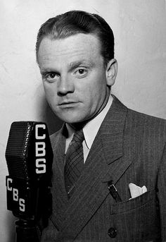 James Cagney doing radio for CBS, c. late 1930s