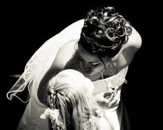 Bride and flower girl I want this pic of me my sis
