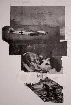 Adrian Ghenie-Study for collage installation 2011