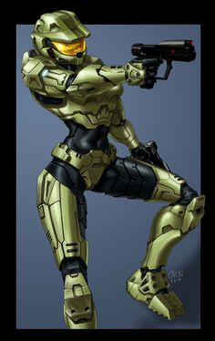 Lisa is a playable female Counter-Terrorist character in Counter-Strike Online Halo Spartan Armor, Halo Armor, Halo Game, Halo 5, Halo Funny, Halo Master Chief, Halo Series, Comic Art Girls, Fallout Art