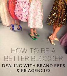 HOW TO BE A BETTER BLOGGER - POOR LITTLE IT GIRL