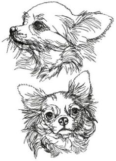 Advanced Embroidery Designs - Chihuahua Set