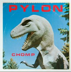 Chomp , released in 1983 by Athens, GA new wave band Pylon, has one of the best album covers ever. How can you go wrong with a giant pictu. Dark Wave, Four Kids, New Wave, Movie Themes, Album Releases, Post Punk, Kinds Of Music, Album Covers, Music Covers