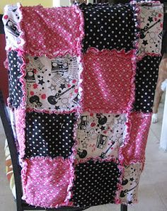 love this rag quilt!