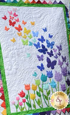 Blooming Butterflies Quilt Kit