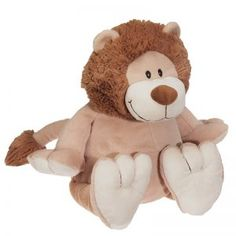 Every Child Big And Small Will Love To Cuddle With This Great Personalized Plush Buddy. Embroidered On The Tummy With Your Choice Of Text - Child'S Name, Birthday, A Cute Saying, Anything You Like Up To 20 Caracters. Monogram Fonts, Monogram Letters, Free Monogram, Animal Delivery, Lion, Cute Stuffed Animals, Creature Comforts, Canada, Plush Animals