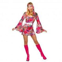 Go Go Disco Costume Retro Flower Print Ladies Fancy Dress Size Go Go Girl Costume, Go Go Dancer Costume, Girl Costumes, Costumes For Women, Halloween Costumes, Hippie Fancy Dress Costume, Hippy Fancy Dress, Ladies Fancy Dress, 70s Fancy Dress Ideas