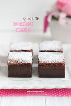 Dolce Salsarosa: Torta magica al cacao