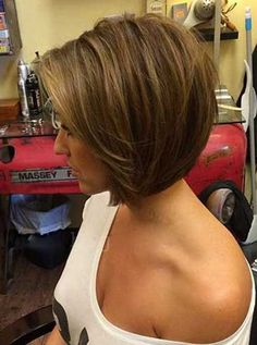 30 Layered Bob Hairstyles | Bob Hairstyles 2015 - Short Hairstyles for Women                                                                                                                                                                                 Más