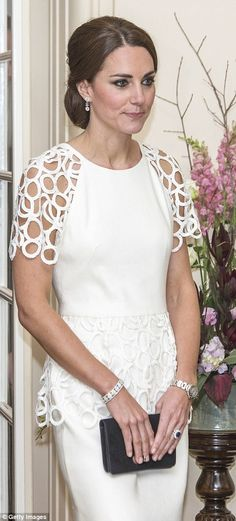 Inevitably compared in the style stakes with her late mother-in-law, the Duchess of Cambri...