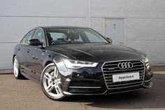 Mythos Black Metallic Audi A6 Saloon