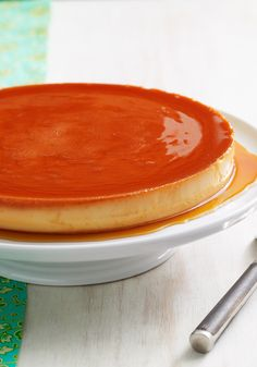 Cream Cheese Flan recipe - Our cream cheese version of this flan is genius!