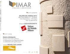 PiMar vi aspetta al Salone del Mobile 2014 di Milano, cliccate sotto per tutte le info!  ---  PiMar is waiting for you at Salone del Mobile 2014 Milan, here the link of the event!
