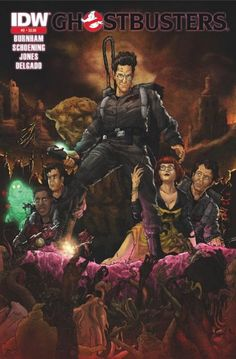 Cover of Ghostbusters ongoing IDW comics issue no. 2-2nd printing