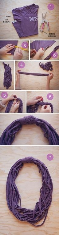 9 Easy Way To Make DIY Scarves!