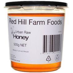 Urban Raw Honey 500gm Tub - Red Hill Farm Foods Raw Honey, Bee Keeping, Tub, Urban, Foods, Food Food, Bath Tub, Soaking Tubs, Bathtub