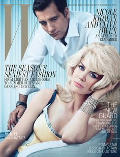 Nicole Kidman & Clive Owen by Emma Summerton for W Magazine May 2012
