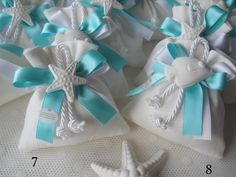 7-8 Seashell Crafts, Beach Crafts, Nautical Wedding, Diy Wedding, Verde Tiffany, Shell Centerpieces, Baby Shower Favours, Lavender Bags, Confetti