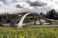 Пешеходный Мост Через Дорогу - mimege.ru