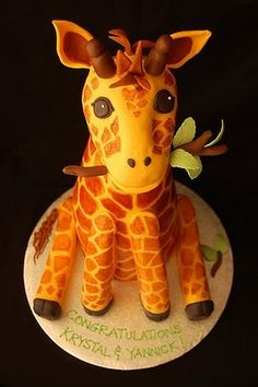 Giraffe Cake ~ Charmine