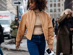 Not Even A Blizzard Could Stop New York Fashion Week Street Style