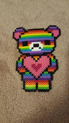 Perler love bear van 8BitCreativeDesigns op Etsy