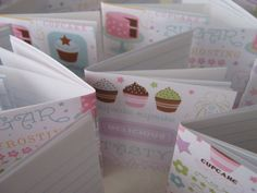 "2.5"" square mini notebooks $.50 each"