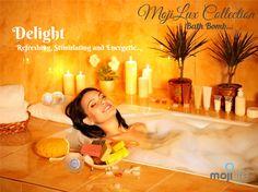 MojiLife Bathbomb MojiLux Collection Delight