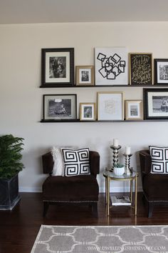 Picture Ledge Gallery Wall