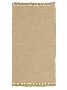 Kuschelweich, aus 100% Baumwolle handgewebt. Mit Fransen an zwei Seiten....