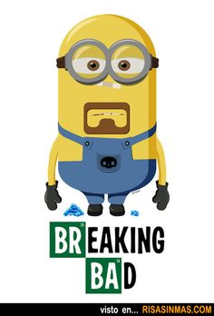 Breaking Bad Minion. @Lorena Siqués Battaglia @Helen Palmer McConnell