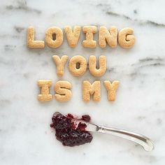"""""""Where there is love there is life.""""  Gandhi  Tag someone you love  #ShareTheLove #FoodValentines #FoodPuns"""