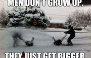 Grow Up  (Making a Snowman the Easy Way!)