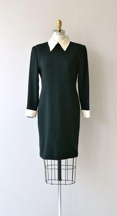 First Division dress vintage little black dress by DearGolden