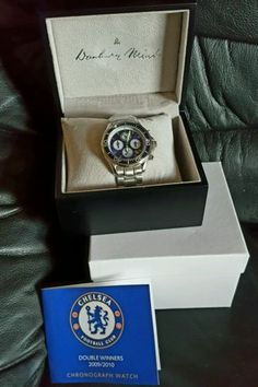 Chelsea fc. #chronograp #watch. double winners. 2009/2010. #limited edition,  View more on the LINK: http://www.zeppy.io/product/gb/2/351974221806/