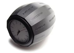 Innovative World Clock - Definitely wouldn't help me get anywhere on time.
