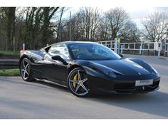 Used 2012 ( reg) Black Ferrari 458 Italia 2dr Auto for sale on RAC Cars