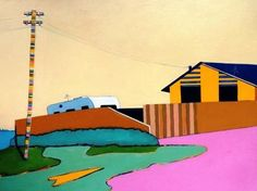 Manyung Gallery Group Billy  Nye Mount Eliza Suburbia (1970's)
