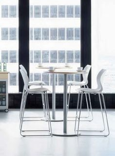 Restaurant chair and stool #Nami, designed by Paolo Crescenti