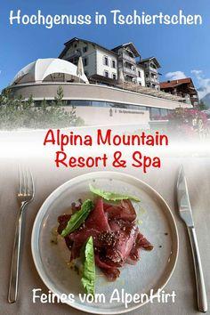 Tschiertschen – Hochgenuss im Alpina Resort - TravelExperience. Slow Food, New Details, Fresh, House, Nice Asses
