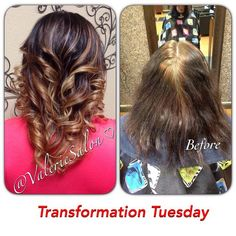 What a great #TransformationTuesday at #ValerieSalon