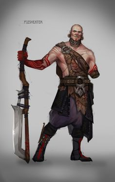 ArtStation - Tatiana Vetrova's submission on Ancient Civilizations: Lost & Found - Character Design Fantasy Warrior, Fantasy Rpg, Medieval Fantasy, Dark Fantasy, Fantasy Character Design, Character Concept, Character Art, Concept Art, Character Ideas