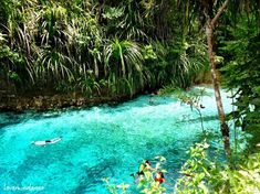 Amazing Places you Should Visit in Your Life - The Enchanted River in Surigao del Sur, Philippines
