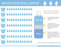 30 Day Water Challenge Printable Meal Prepping Planning