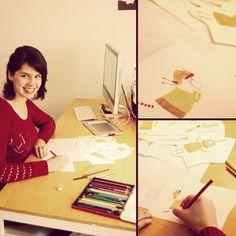 Como ilustrar livros infantis: entrevista com Bruna Assis Brasil - blog da Ronize Aline